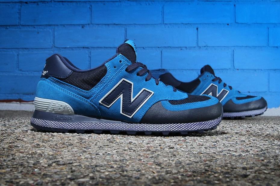 Image of New Balance 574 Blue/Navy