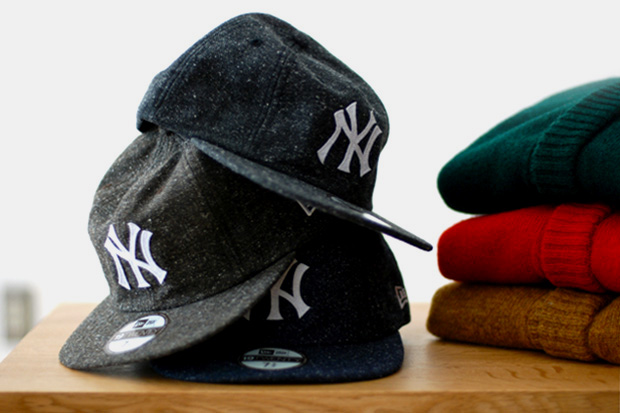 Image of New Era 8-Panel 18TWENTY NEP H-BONE NY YANKEES Hats