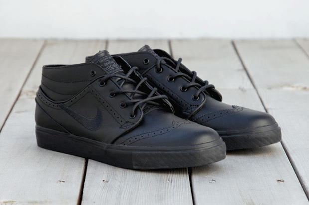 "Image of Nike SB Zoom Stefan Janoski ""Black Brogue"""