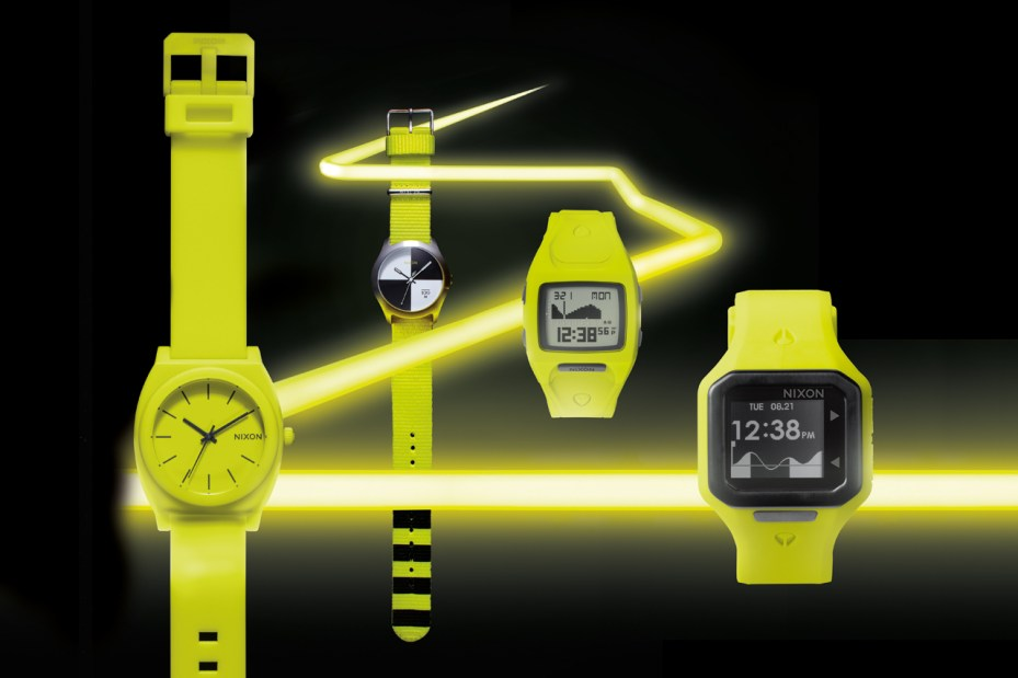 "Image of Nixon 2012 Fall/Winter ""Neon Yellow"" Collection"