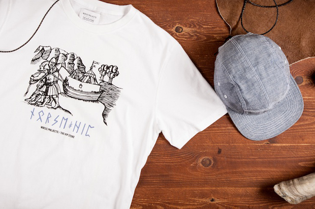 Image of Norse Projects for The Hip Store 25th Anniversary Capsule Collection
