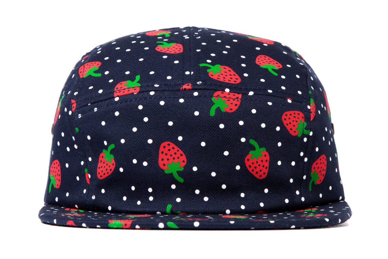 Image of ONLY NY Strawberry 5 Panel Cap