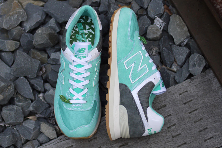 "Image of OSHMAN'S x mita x New Balance ML574 ""Mojito"""