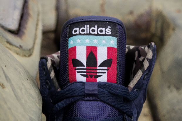 "Image of Packer Shoes x adidas Originals Conductor Hi ""New Jersey Americans"""