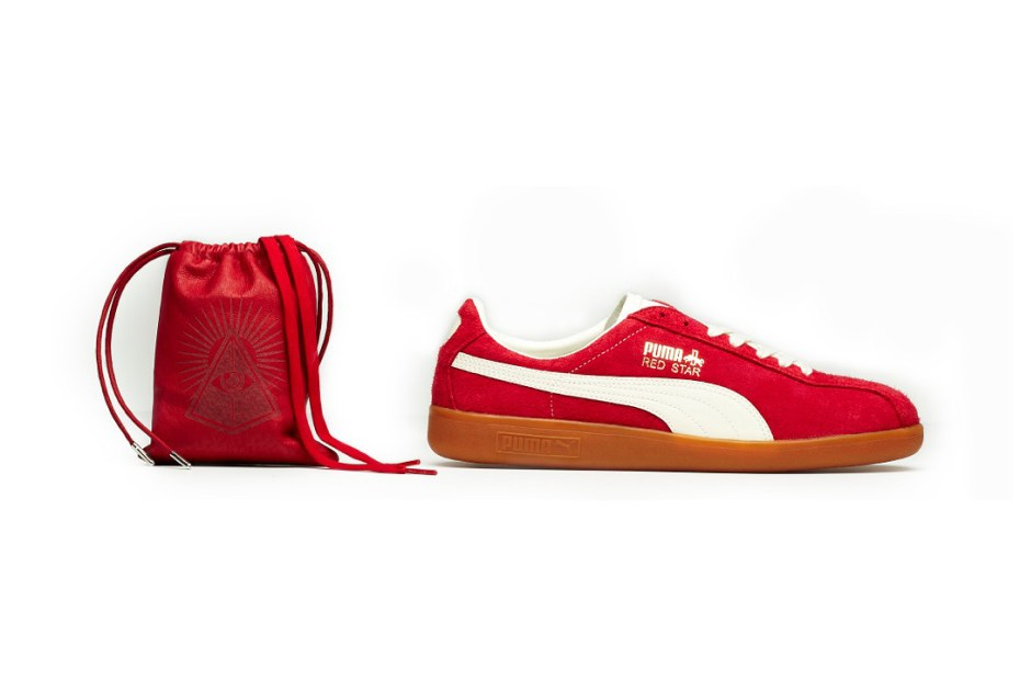Image of PUMA Shadow Society 2012 Fall/Winter Red Star and Blue Star