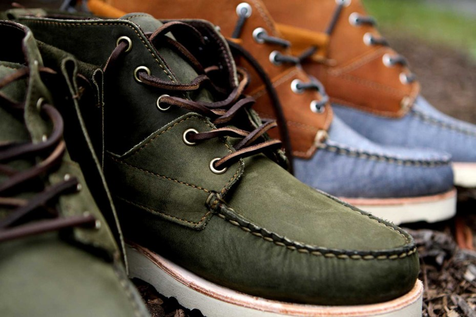 Image of Ronnie Fieg x Sebago 2012 Fall/Winter Iroquois Lux Boots