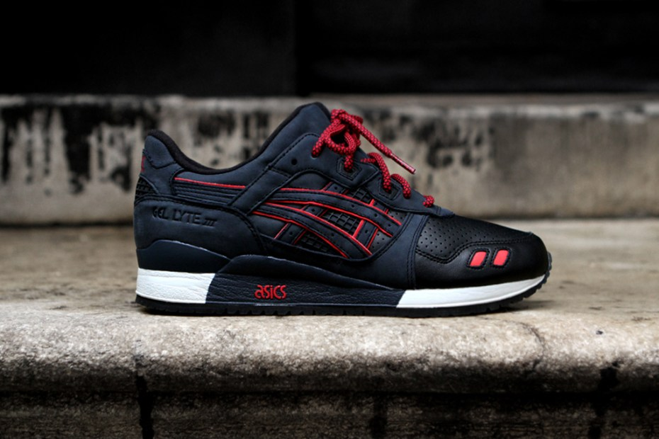 "Image of Ronnie Fieg x ASICS ""Total Eclipse"" Gel Lyte III"
