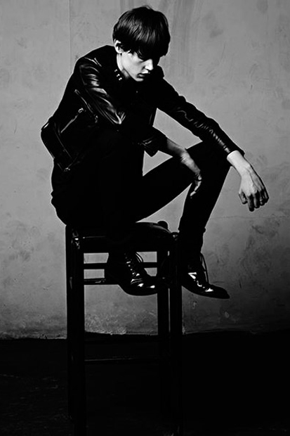 Image of Saint Laurent 2013 Spring/Summer Campaign Photoed by Hedi Slimane