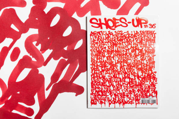 "Image of Shoes-Up #36 ""STREET ART"""