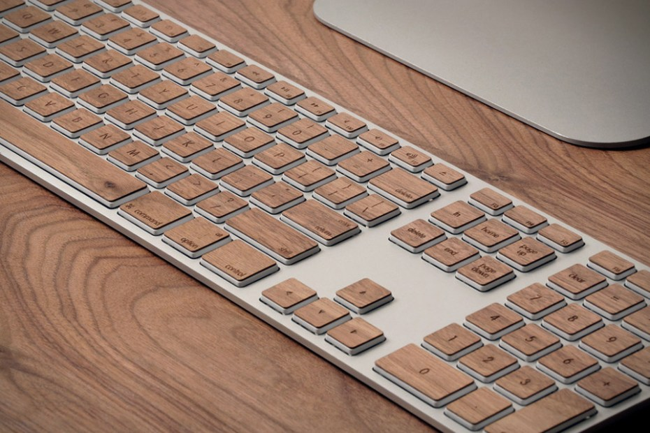 Image of Spruce Up Your Mac Keyboard with Lazerwood Keys