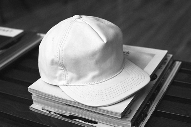 Image of Stampd Lambskin Snapback