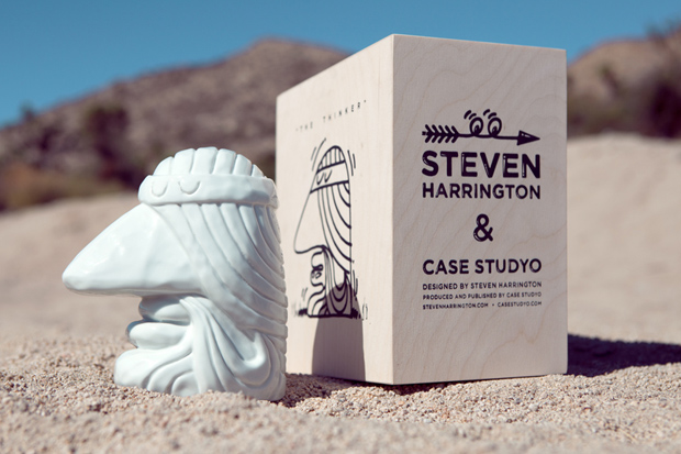 Image of Steven Harrington x Case Studyo The Thinker Sculpture