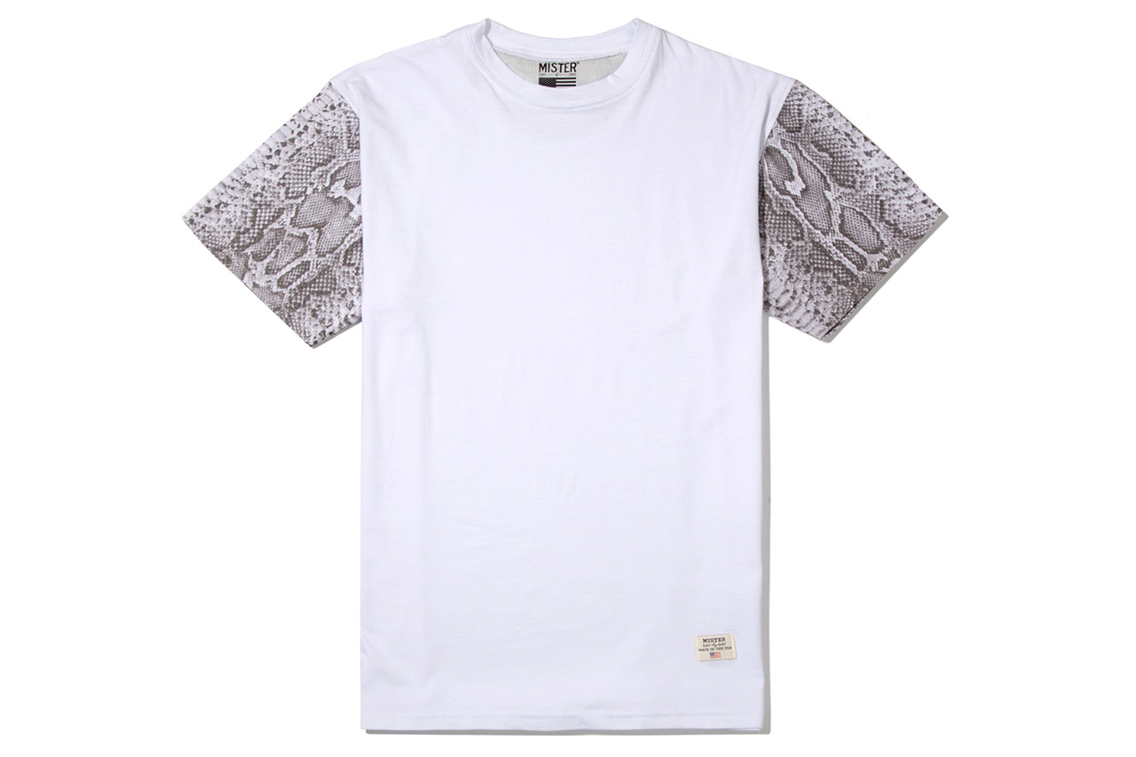 Image of Stevin Gold x Mister 2012 Fall/Winter Snake Sleeve T-Shirts