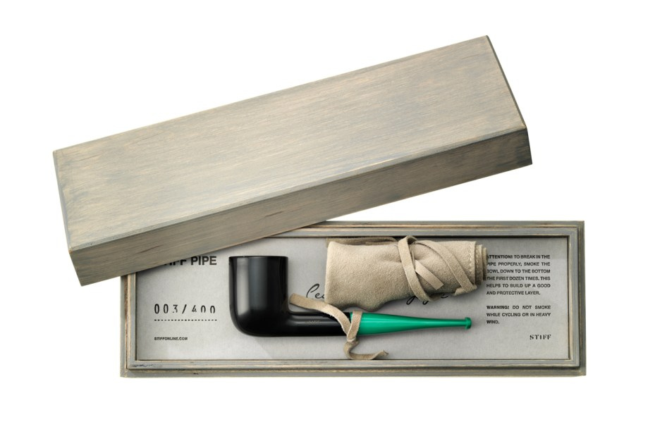 Image of Stiff Releases a Dieter Rams-Inspired Smoking Pipe