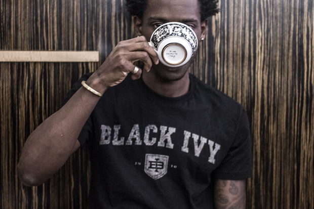 "Image of Street Etiquette x The Brooklyn Circus ""Black Ivy"" T-Shirts"