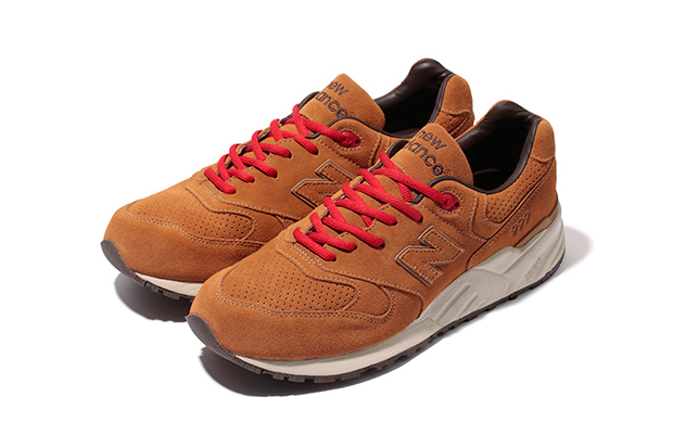 "Image of Stussy x realmadHECTIC x New Balance ML999 ""Selle Francais"" Further Look"