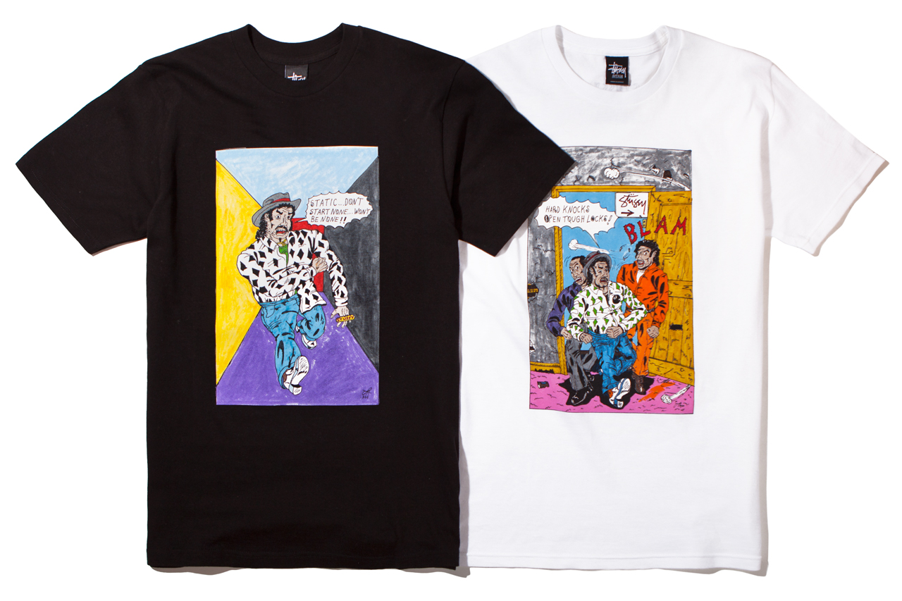 Image of Stussy x Real Deal Comix 2012 Fall/Winter Capsule Collection