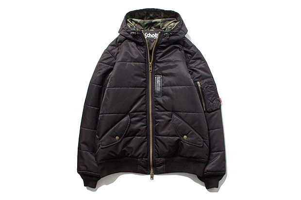 Image of Stussy x Schott MA-1 Puffy Jacket
