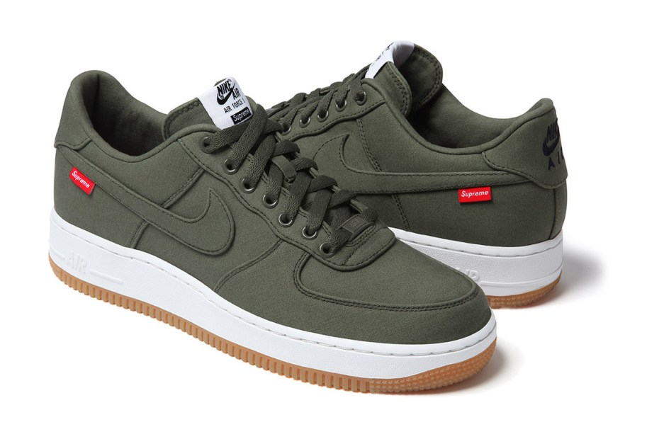 Image of Supreme x Nike 2012 Air Force 1 - A Closer Look