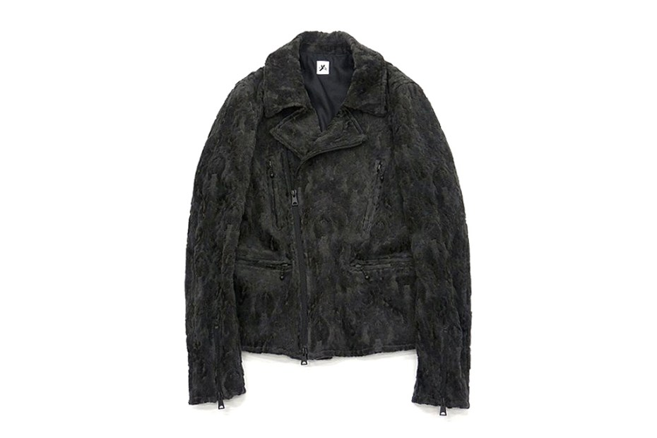 Image of S'yte 2012 Fall/Winter Textured Suede Riders Jacket
