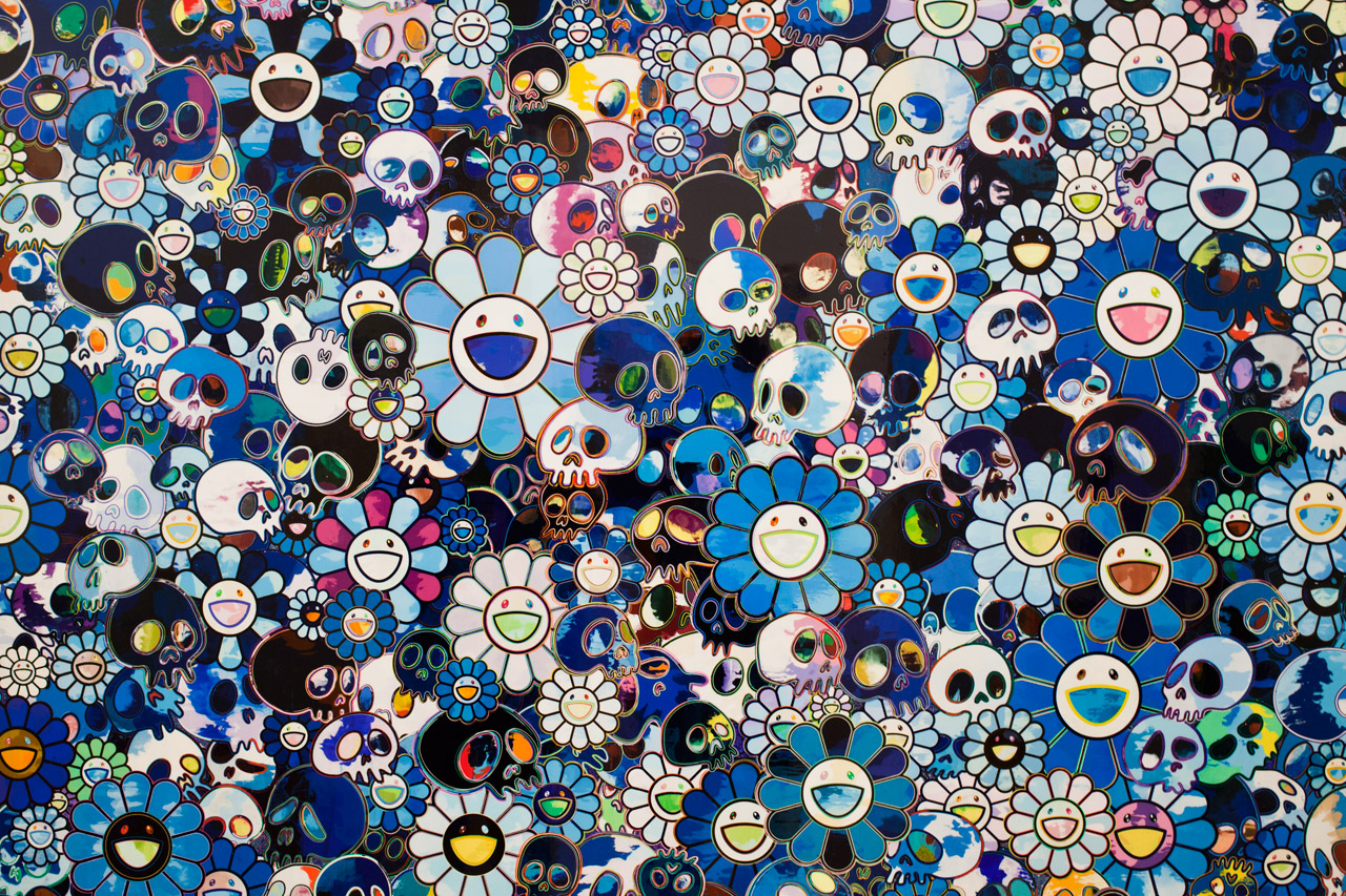 Image of Takashi Murakami Flowers &amp; Skulls Exhibition @ Gagosian Gallery Hong Kong Recap