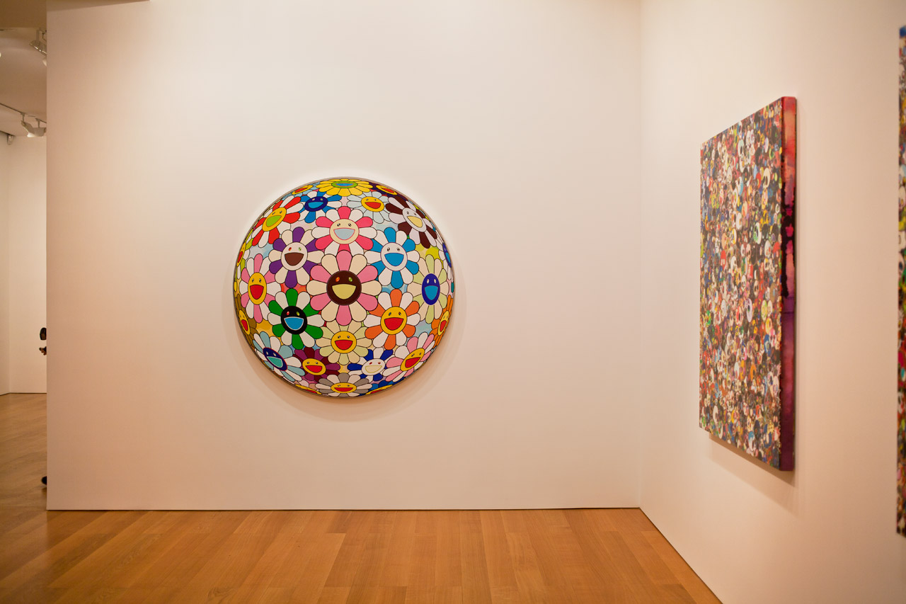 "Image of Takashi Murakami ""Flowers & Skulls"" Exhibition @ Gagosian Gallery Hong Kong Recap"