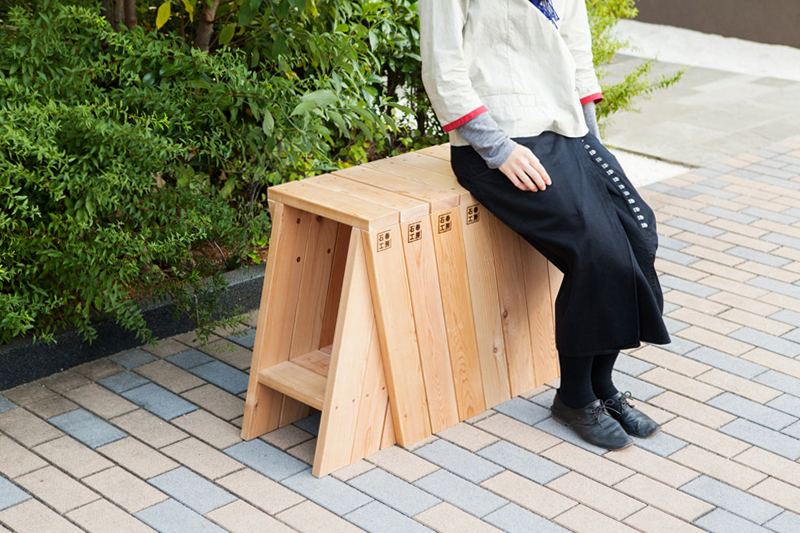 Image of The AA Stool by Torafu Architects