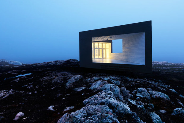 Image of The Fogo Island Studios by Saunders Architects