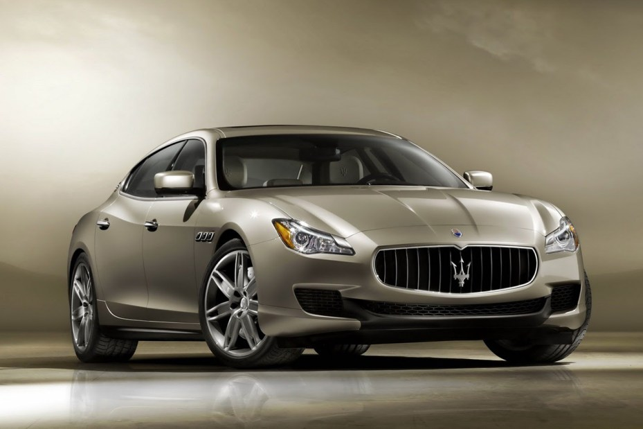 Image of The Maserati 2014 Quattroporte Set to be Unveiled at the Detroit Auto Show