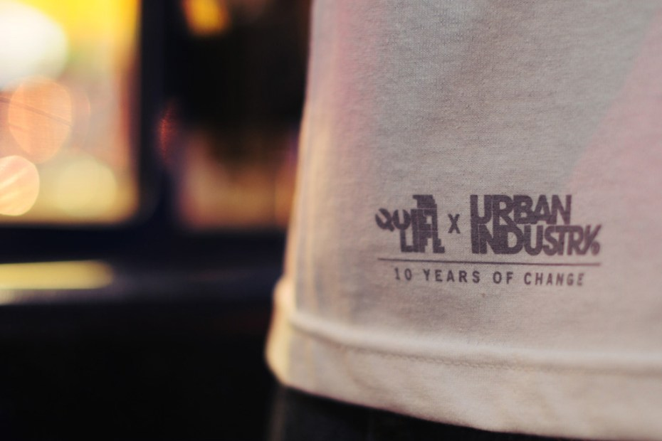 "Image of The Quiet Life For Urban Industry ""10 Years of Change"" Collaboration"