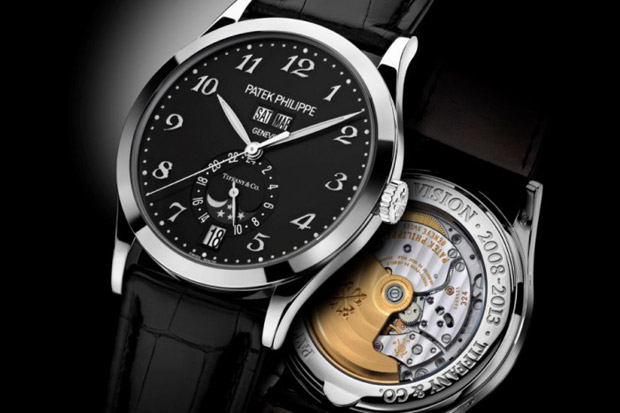 Image of Tiffany & Co. x Patek Philippe Annual Calendar