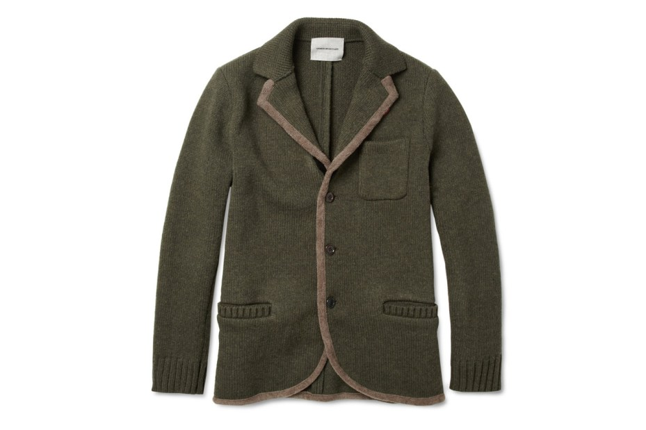 Image of UNDERCOVER Knitted Lightweight Wool Jacket