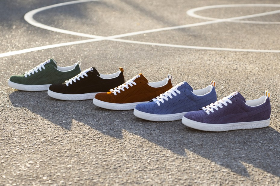 "Image of UNDFTD x PUMA Clyde ""Gametime"" Pack"