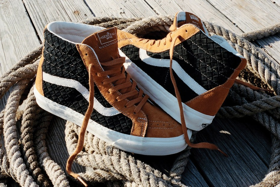 Image of DQM x Vans 2012 Holiday Woven Era & Sk8-Hi
