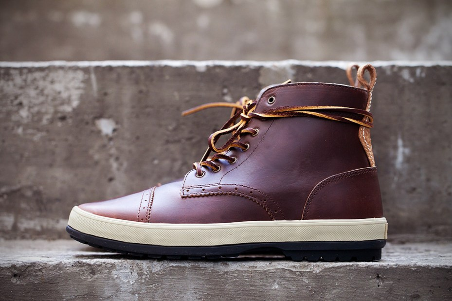 Image of Vans Vault Horween Oxford Toe Cap LX