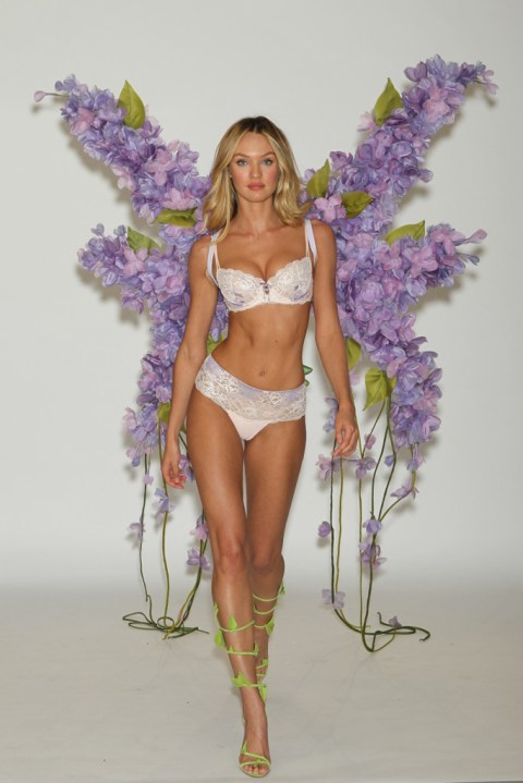 Image of Victoria's Secret 2012 Fashion Show Fittings featuring Doutzen Kroes, Candice Swanepoel, Alessandra Ambrosio and Lily Aldridge