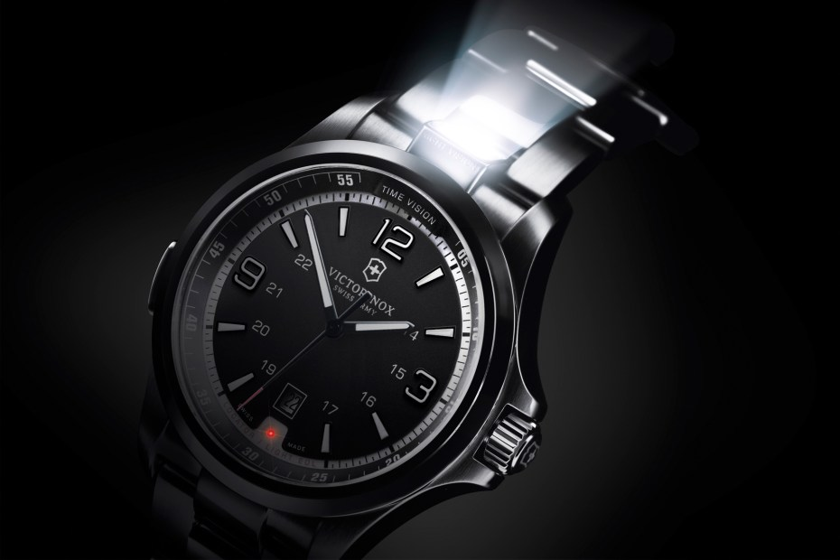 Image of Victorinox Night Vision Watch with Rescue Function