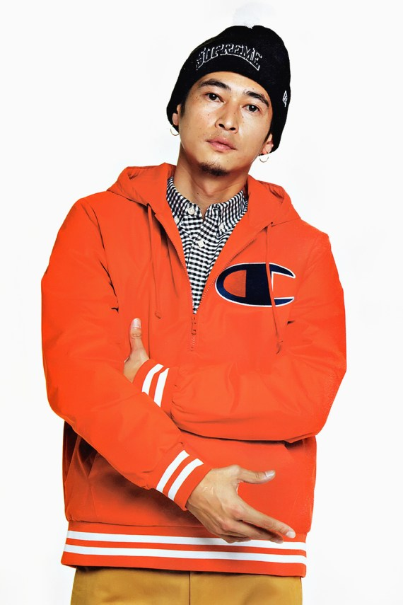 Image of WARP: Supreme 2012 Fall/Winter Collection Editorial featuring Yosuke Kubozuka