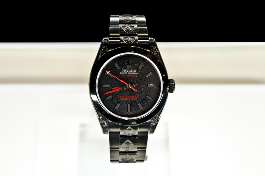 Image of Wes Lang x Bamford Watch Department Rolex Watches