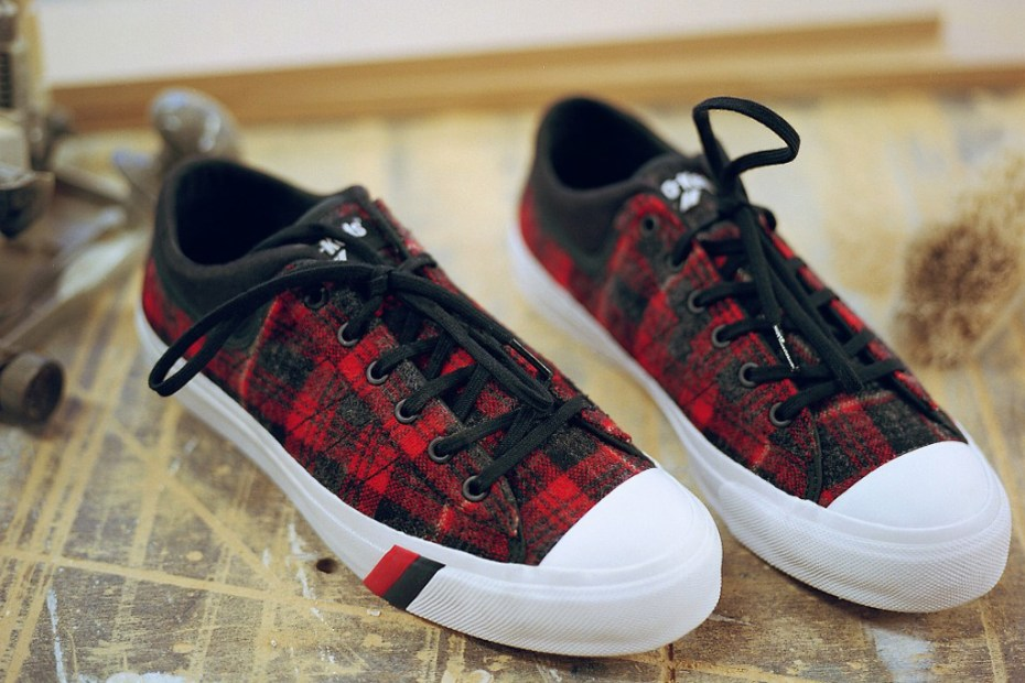 Image of Woolrich x PRO-Keds Royal Master DK