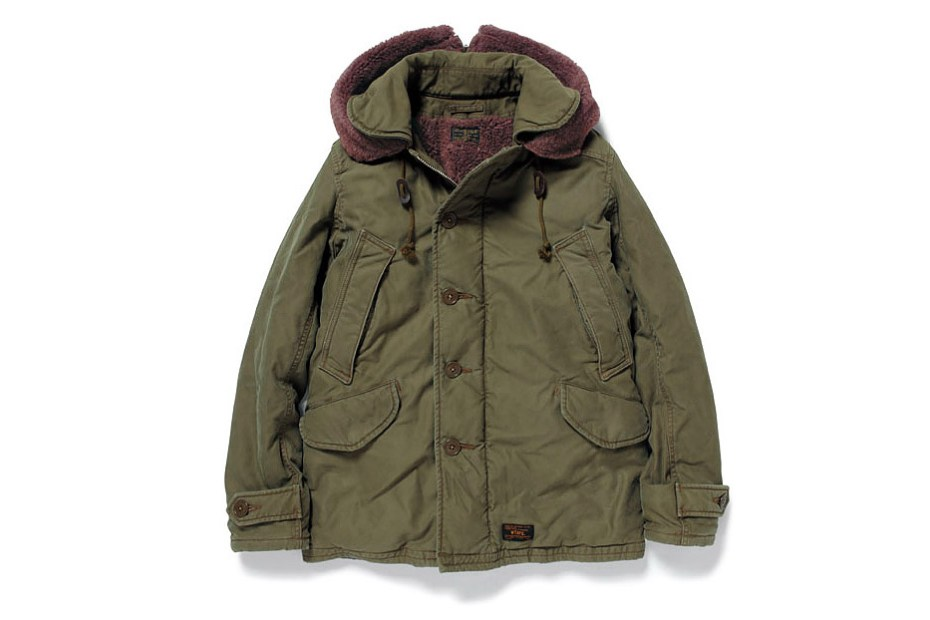 Image of WTAPS 2012 Fall/Winter B-9 COTTON SATIN JACKET