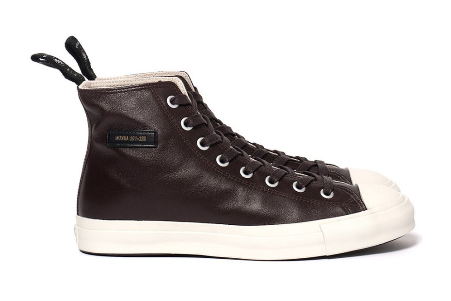 Image of WTAPS 2012 Fall/Winter Leather Sneakers
