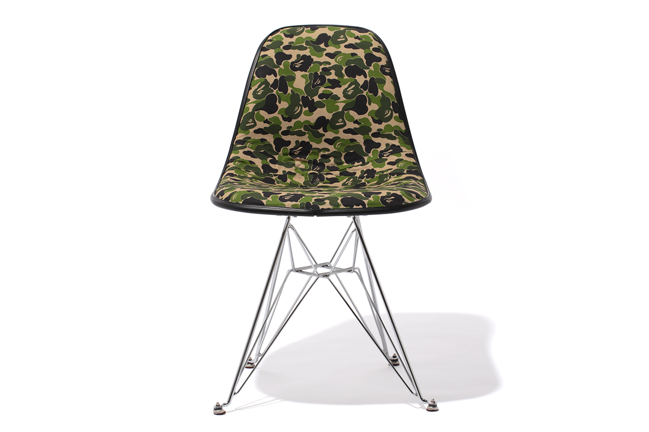 Image of A Bathing Ape x Cover-it-All 2012 BAPE 1ST CAMO Chair
