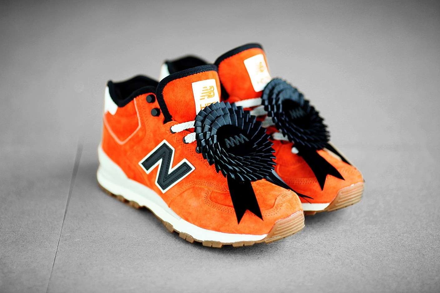 Image of Eric Kot x 4A Like Black x New Balance H574 Further Look