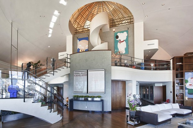 Image of A Look Inside Pharrell&#039;s $16.8 Million Penthouse