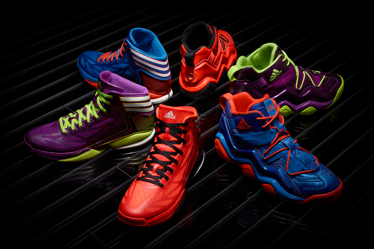 "Image of adidas Basketball 2012 Holiday ""Bright Lights - Big City"" Pack"