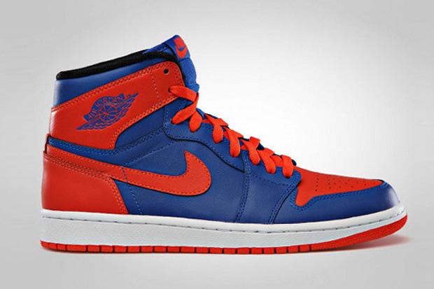 "Image of Air Jordan 1 Retro High ""Knicks"""