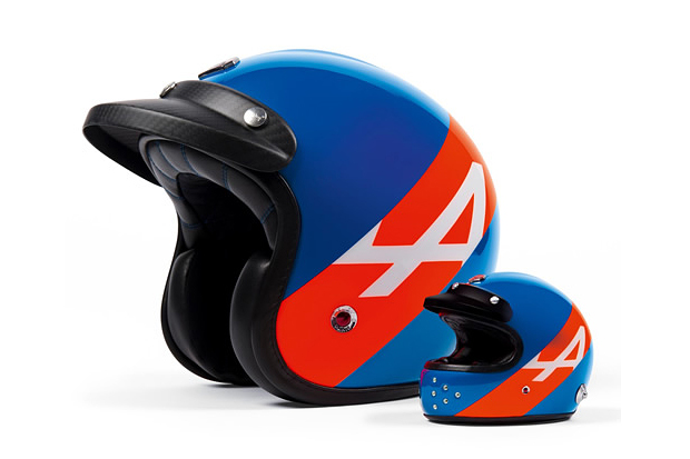 Image of Alpine x Les Ateliers Ruby Helmet