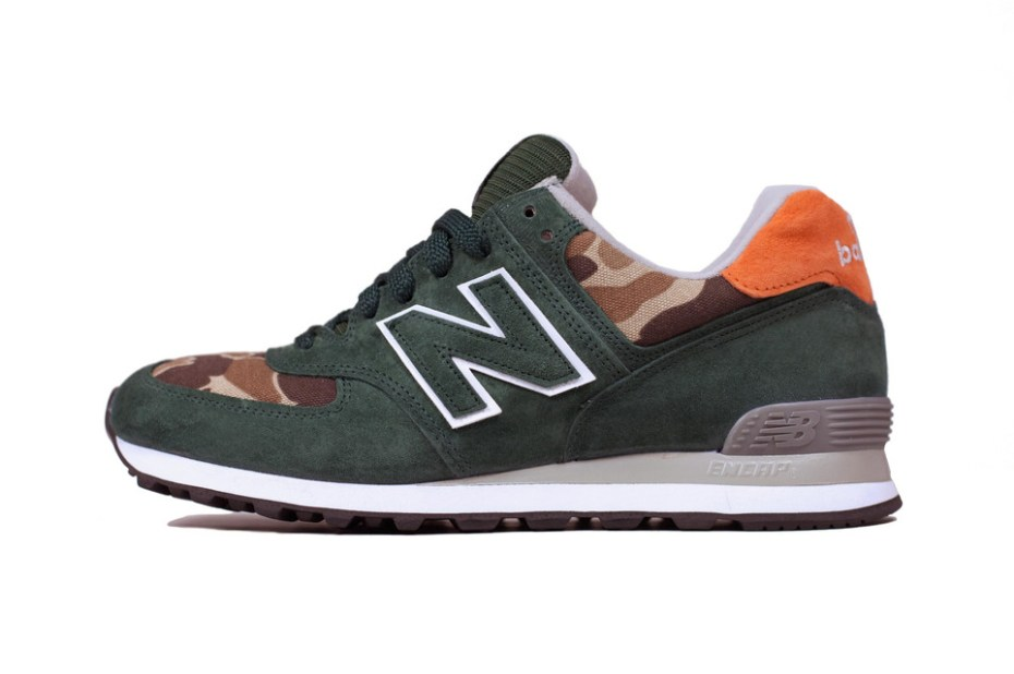 "Image of Ball and Buck x New Balance 2012 Winter US574 ""Mountain Green"""