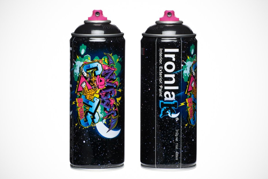 "Image of Bodega x Ironlak Paints ""Murdered Out"" Can"